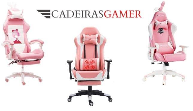 As cadeiras de jogo cor-de-rosa mais baratas para comprar online